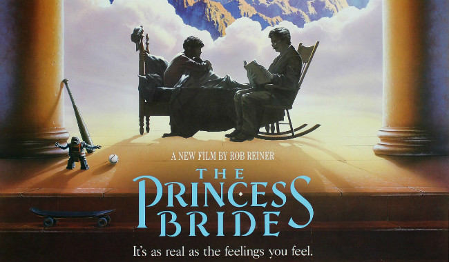 "La princesa prometida (""The princess bride""). Rob Reiner, 1987."